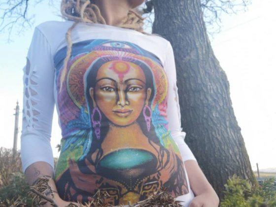mystical trubal clothing by nayamoon art